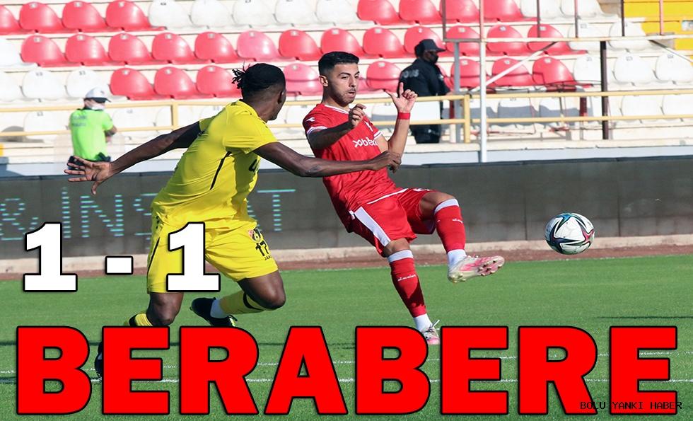 Beypiliç Boluspor: 1 - İstanbulspor: 1