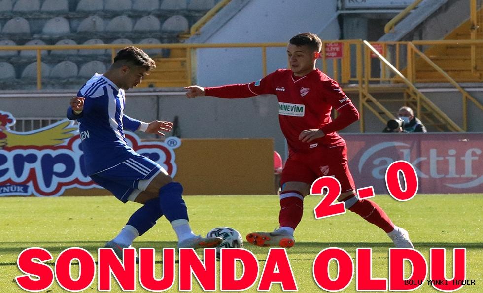 Beypiliç Boluspor: 2 - Ankaraspor: 0