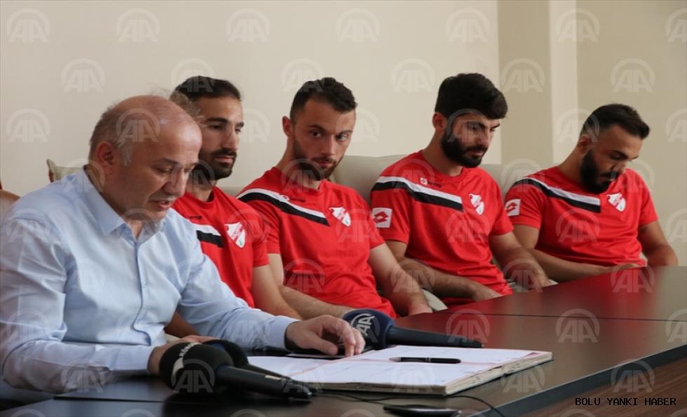 Boluspor, 8 futbolcu ile sözleşme imzaladı