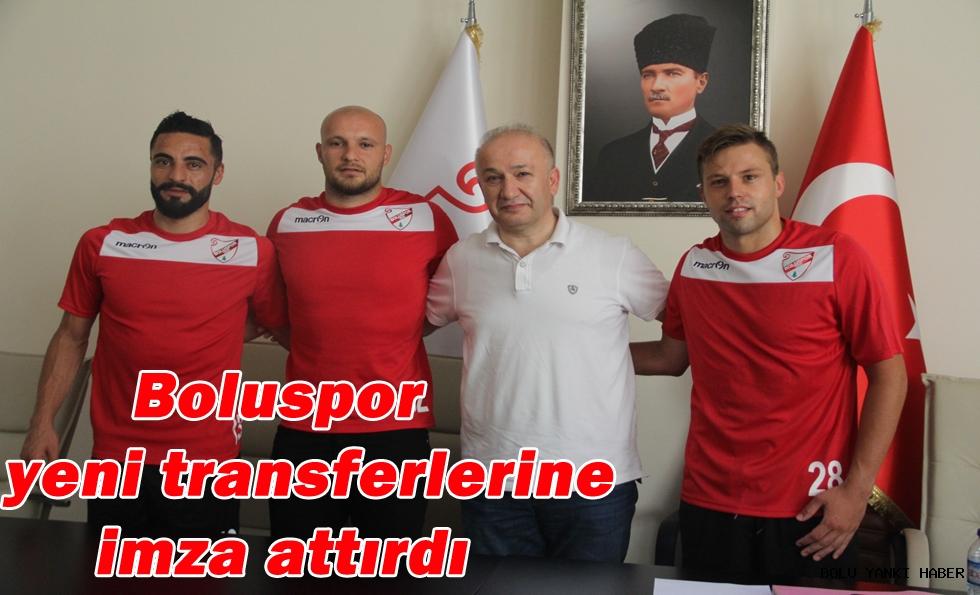 Boluspor yeni transferlerine imza attırdı