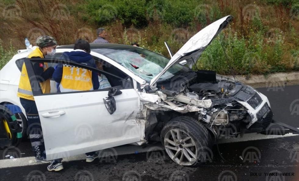 Gerede'de trafik kazası: 4 yaralı