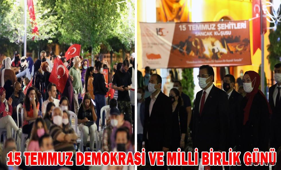 15 Temmuz Demokrasi ve Milli Birlik Günü!