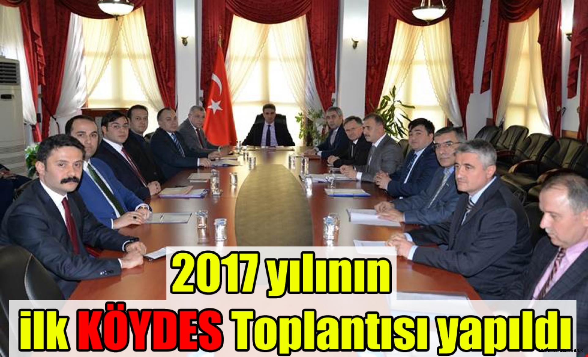 2017 yılının ilk KÖYDES Toplantısı yapıldı.