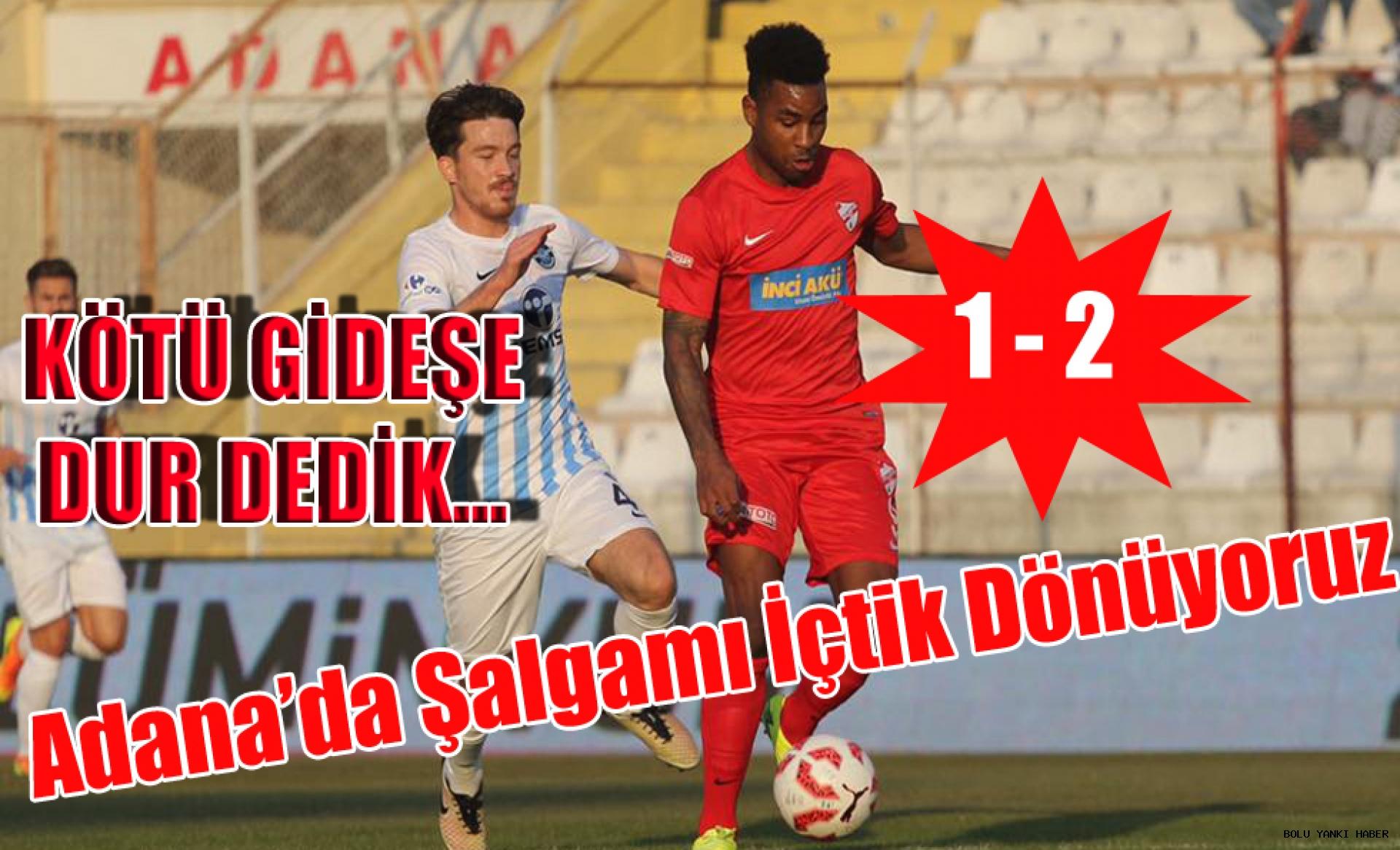 A.Demirspor 1 - 2 Boluspor