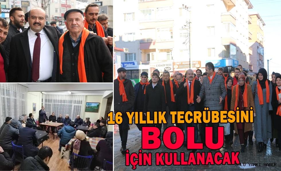 AK Parti  Belediye Başkan adayı Fatih Metin Seçim Çalışmalarına Aralıksız Devam Ediyor
