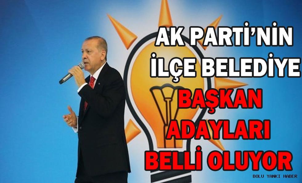 AK Parti'nin İlçe Belediye Başkan Adayları Belli Oluyor