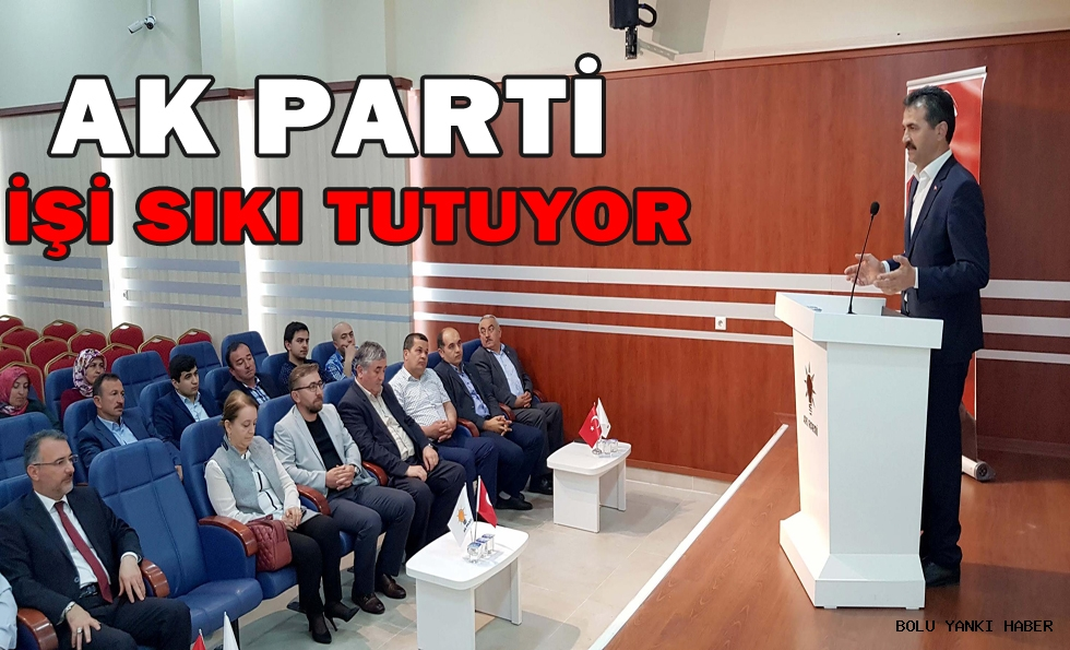 AK Parti işi sıkı tutuyor