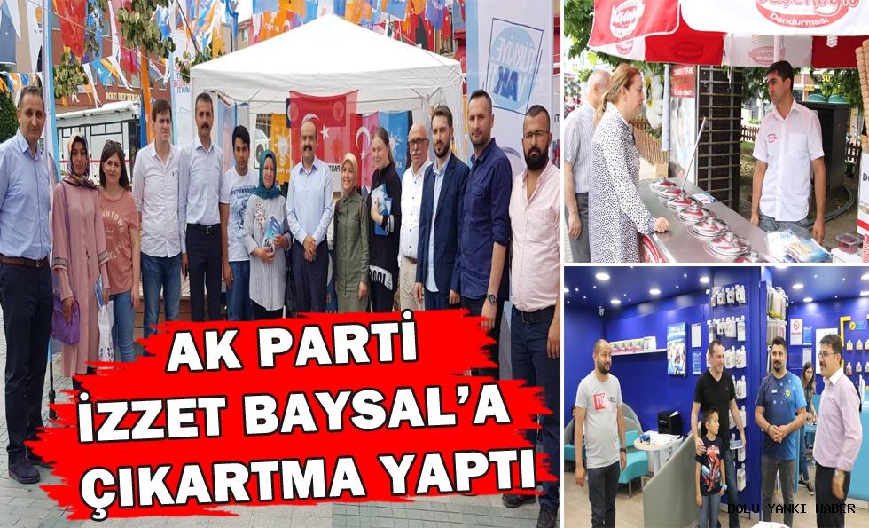 AK Parti İzzet Baysal'a çıkartma yaptı