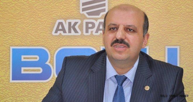"""Ak Parti Milletvekili Ali Ercoşkun:   """"Yatırımlarımız OHAL süresince de hız kesmeyecek."""