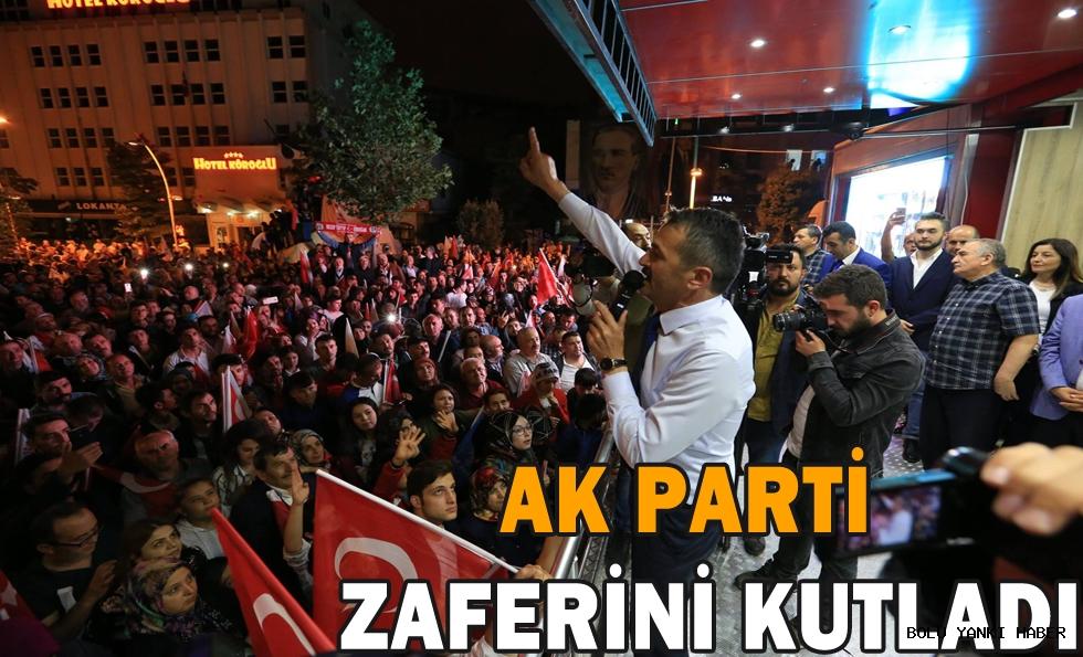 AK Parti seçim başarısını kutladı