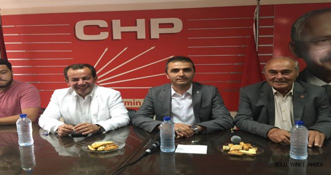 Ak parti Yönetiminden  Chp'ye Ziyaret