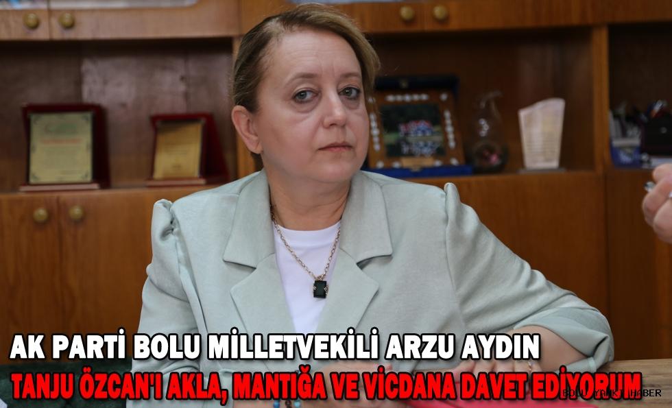 AK Parti'li Aydın'dan Bolu Belediye Başkanı Özcan'ın yabancı uyruklulara ilişkin ifadelerine yönelik açıklama