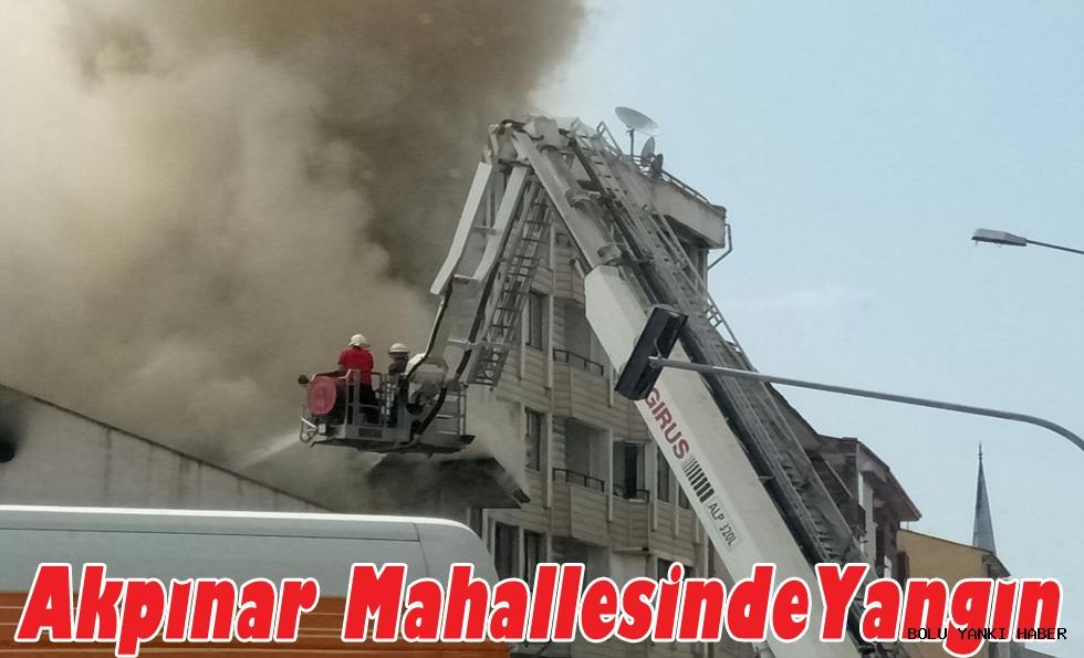 Akpınar Mahallesinde Yangın