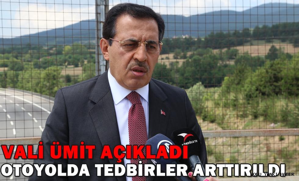 Anadolu Otoyolu'nda trafik tedbirleri artırıldı