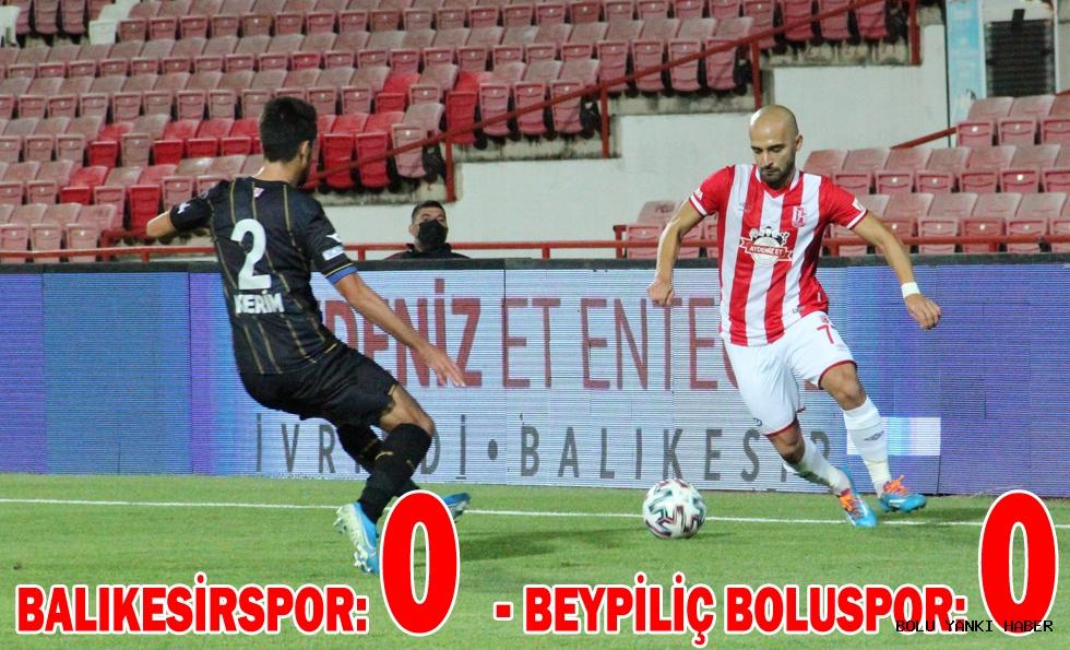 Balıkesirspor: 0 - Beypiliç Boluspor: 0