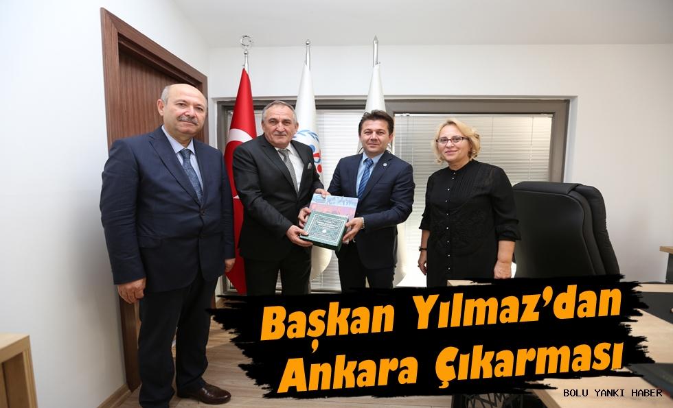 Başkan Yılmaz'dan Ankara Çıkarması