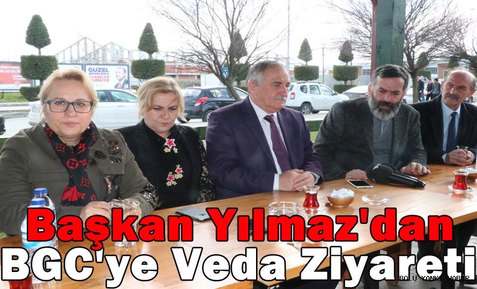 Başkan Yılmaz'dan BGC'ye Veda Ziyareti