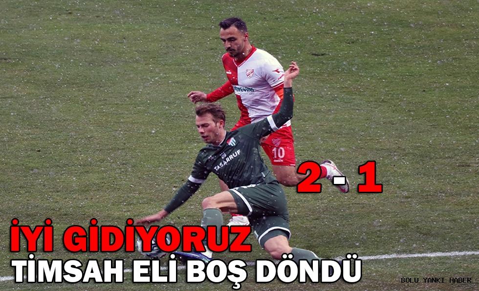 Beypiliç Boluspor: 2 - Bursaspor: 1