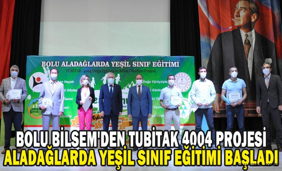 BOLU BİLSEM'DEN TUBİTAK 4004 PROJESİ