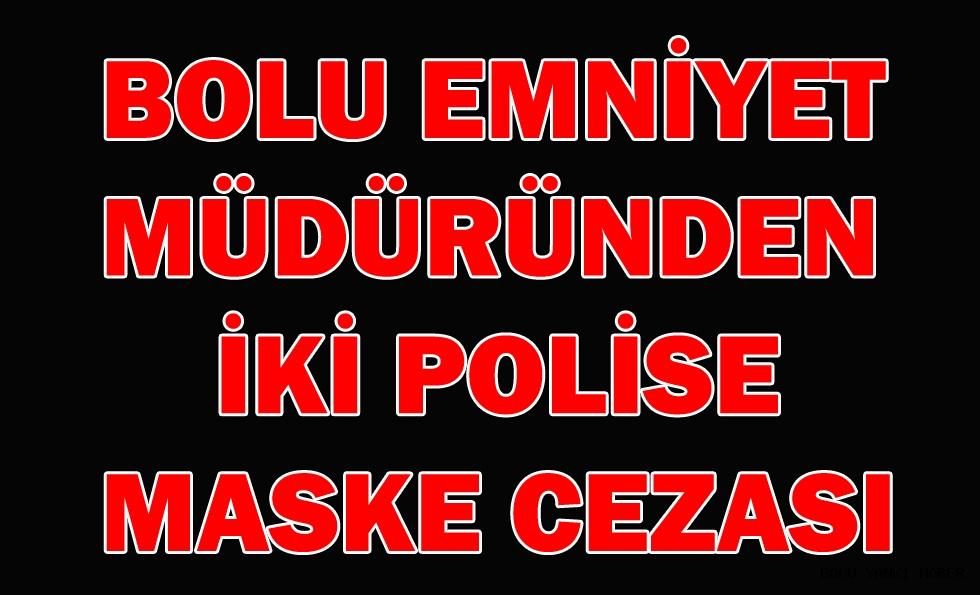 Bolu İl Emniyet Müdürü Erdoğan'dan 2 polise