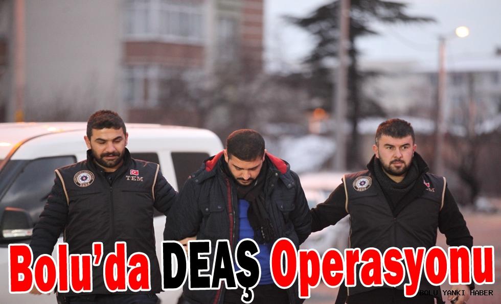 Bolu'da DEAŞ operasyonu: 1 gözaltı