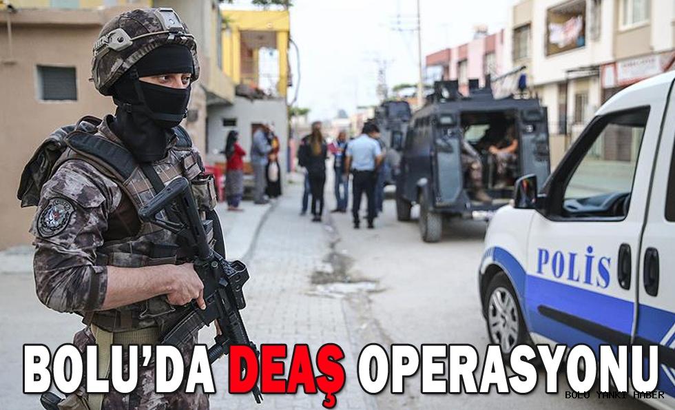 Bolu'da DEAŞ operasyonu; 3 gözaltı