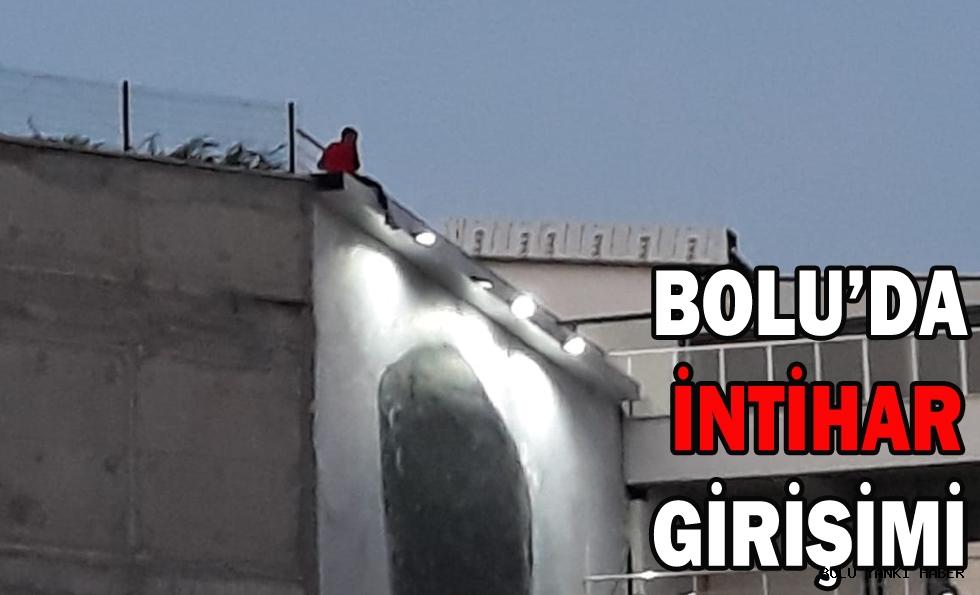 BOLU'DA İNTİHAR GİRİŞİMİ!