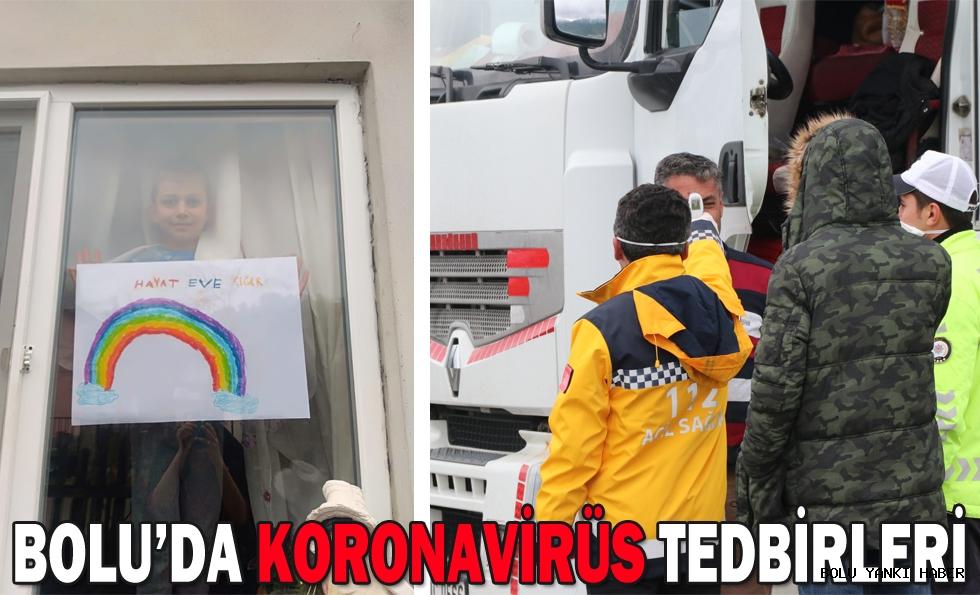 BOLU'DA KORONAVİRÜS TEDBİRLERİ