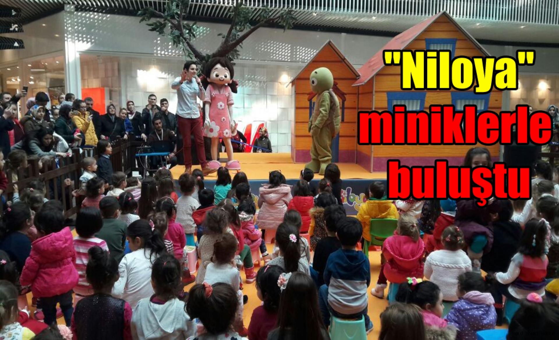 ''Niloya'' Bolu'da miniklerle buluştu.