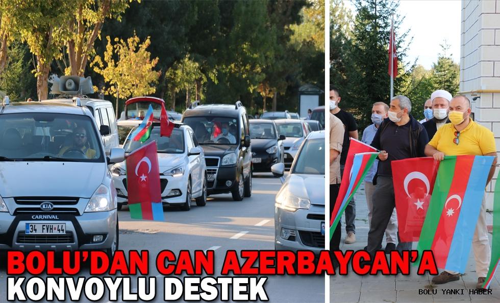 Bolu'dan Azerbaycan'a   konvoylu destek