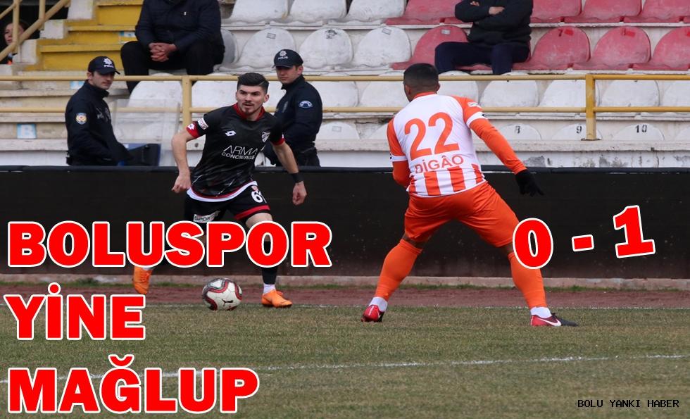 Boluspor: 0 - Adanaspor: 1