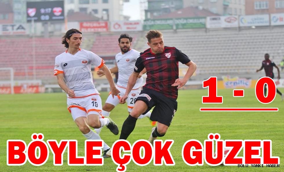 Boluspor: 1 - Adanaspor: 0