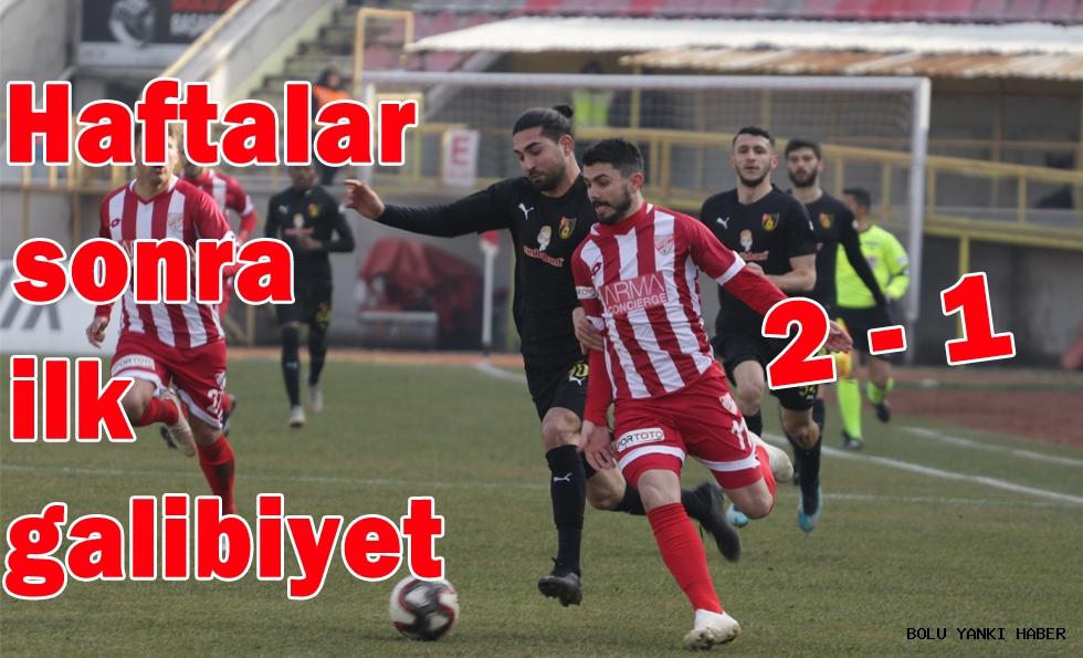 Boluspor 2 - 1 İstanbulspor