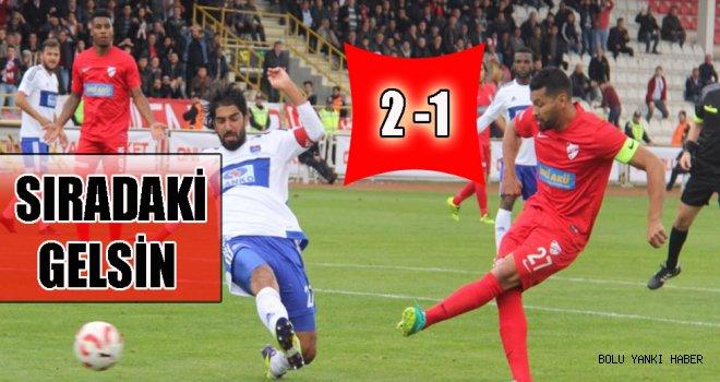 Boluspor: 2 - Gaziantep Büyükşehir Belediyespor: 1