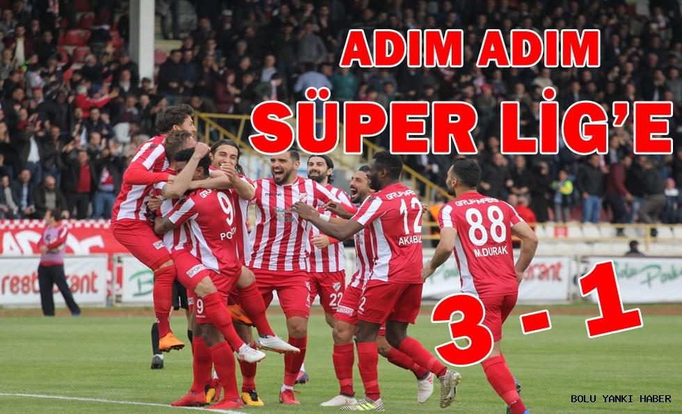 Boluspor: 3 - İstanbulspor: 1