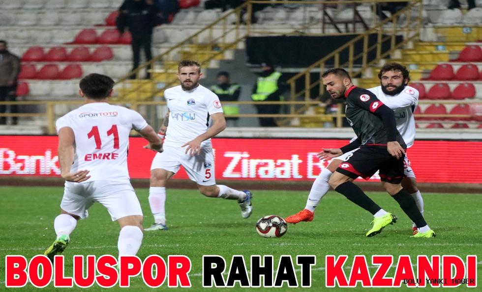 Boluspor: 5 - Van Büyükşehir Belediyespor: 1