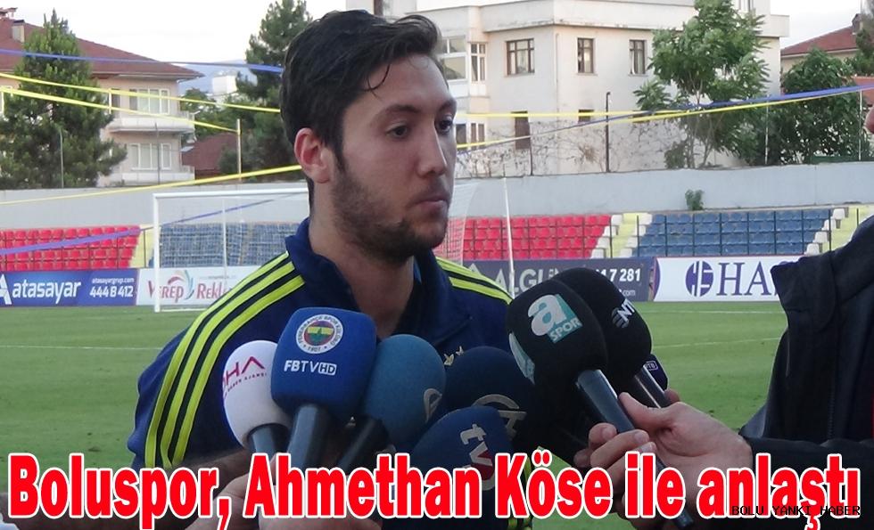Boluspor, Ahmethan Köse ile anlaştı