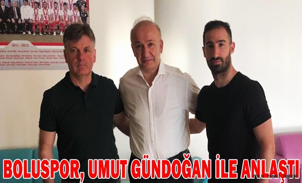 Boluspor, Umut Gündoğan ile anlaştı