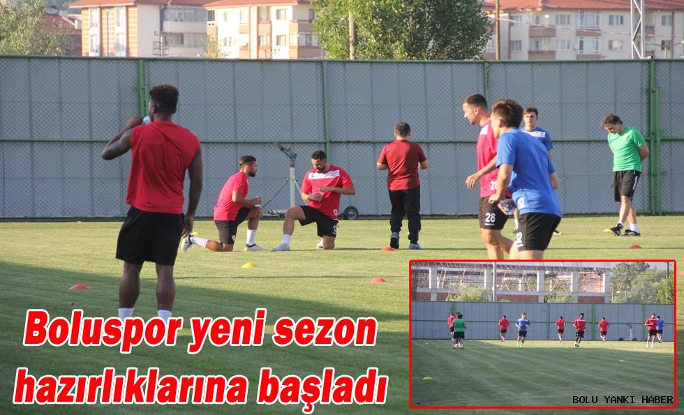 Boluspor yeni sezon hazırlıklarına başladı