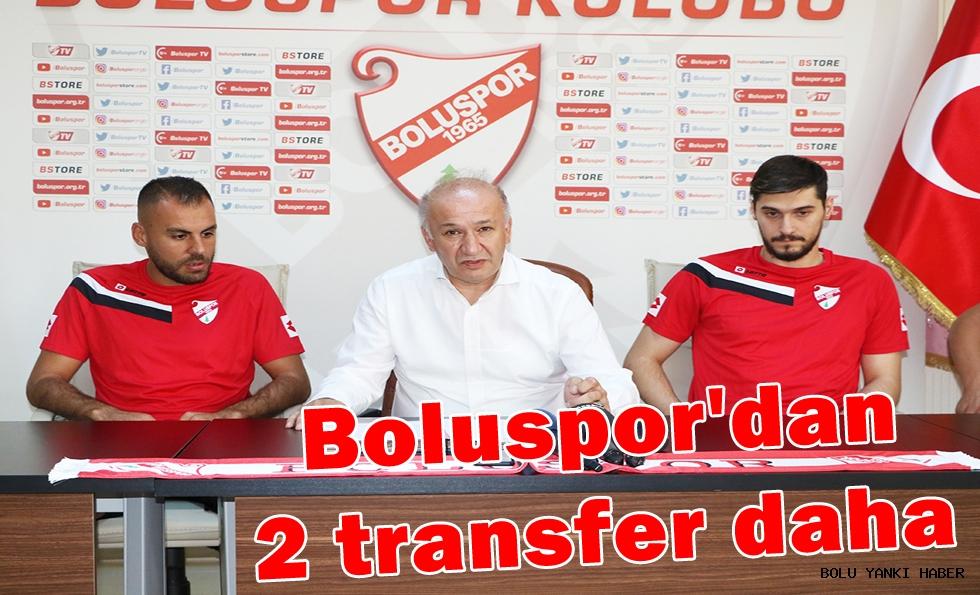 Boluspor'dan 2 transfer daha