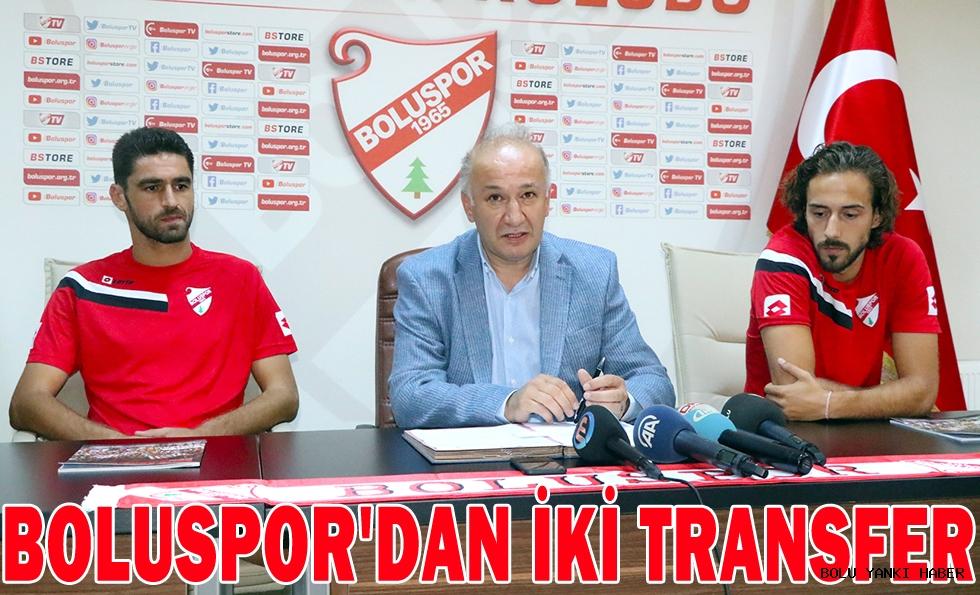 Boluspor'dan iki transfer
