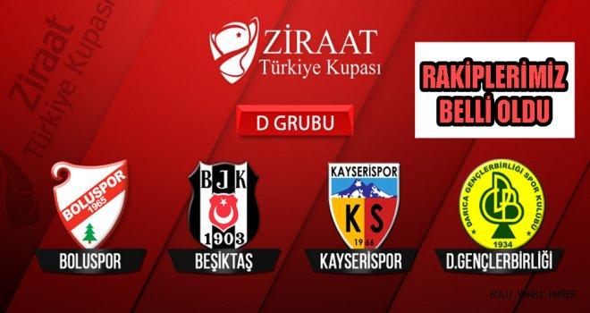 Bolusporun Türkiye Kupasındaki Rakipleri Belli Oldu.