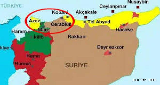 Cerablus-Azez hattı birleştirildi