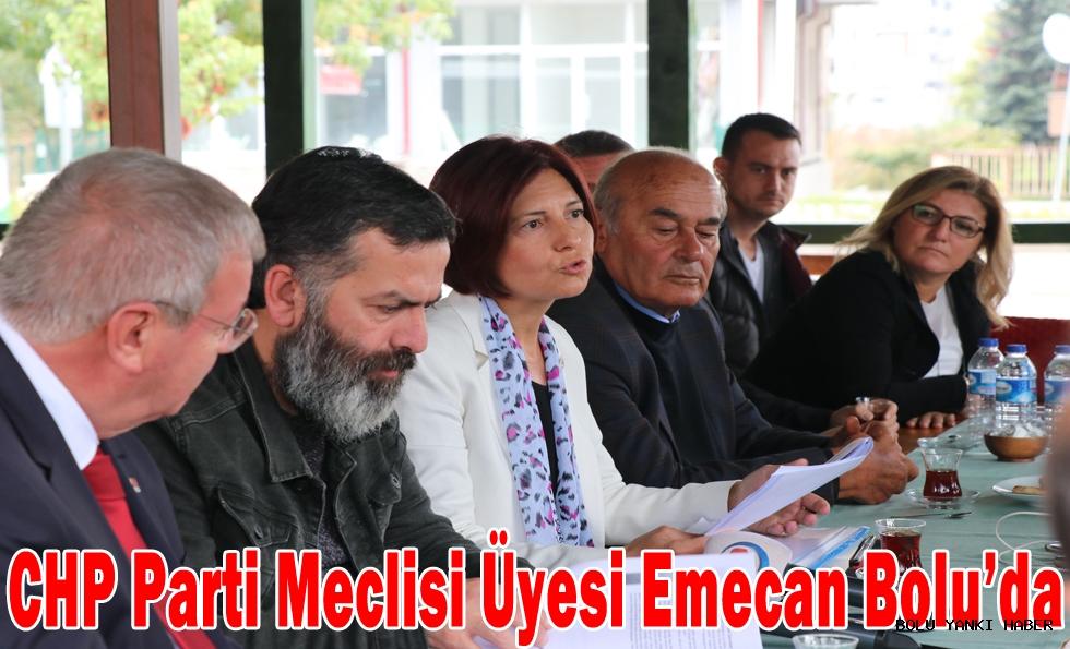 CHP Parti Meclisi Üyesi Emecan Bolu'da