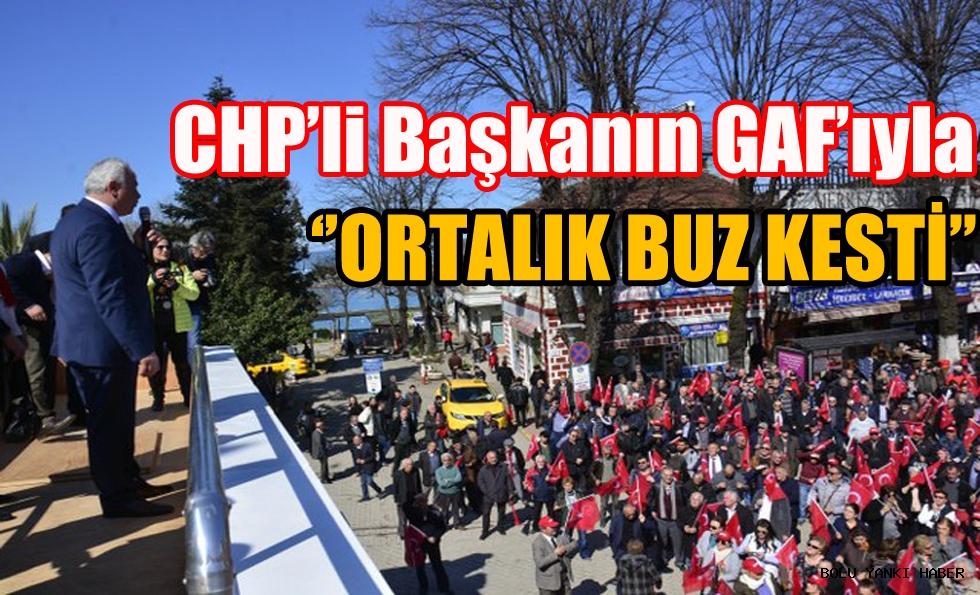 CHP'li Başkandan GAF