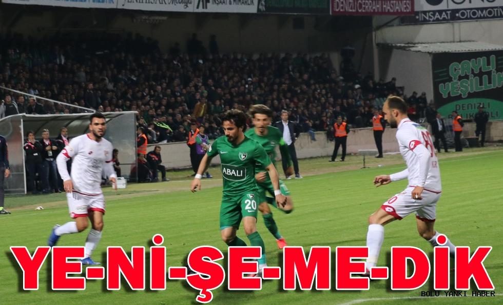 Denizlispor: 0 - Boluspor: 0