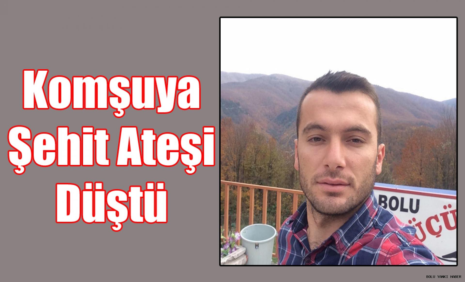 El-Bab şehidinin Zonguldak'taki baba ocağına ateş düştü