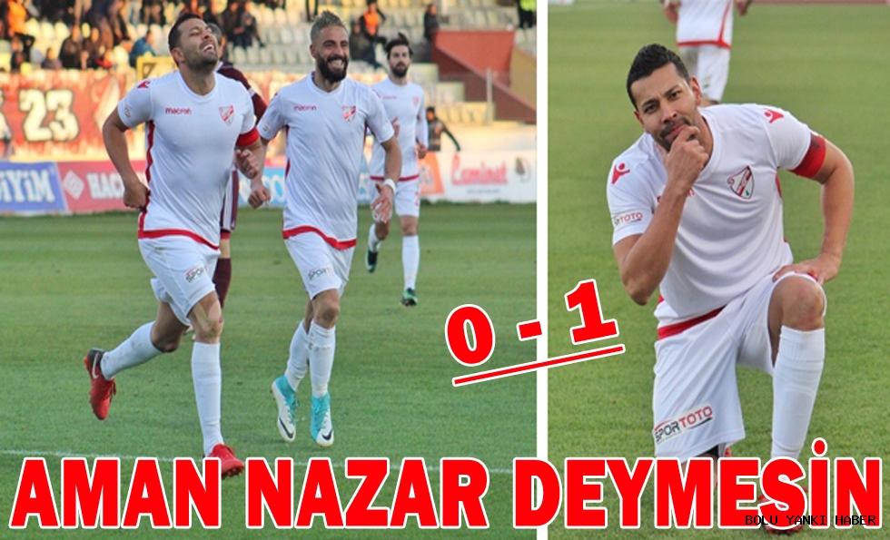 Elazığspor 0 - 1 Boluspor