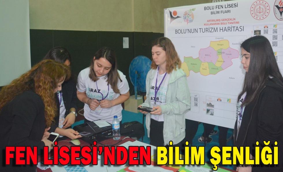 FEN LİSESİ'NDEN BİLİM ŞENLİĞİ
