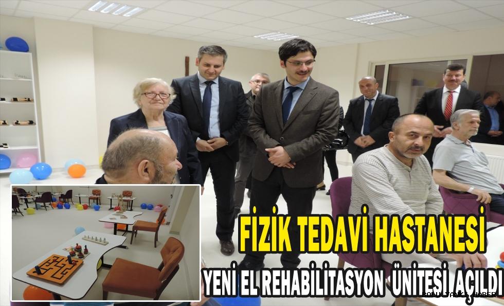 Fizik Tedavi Hastanesi Yeni El Rehabilitasyon Ünitesİ Açıldı
